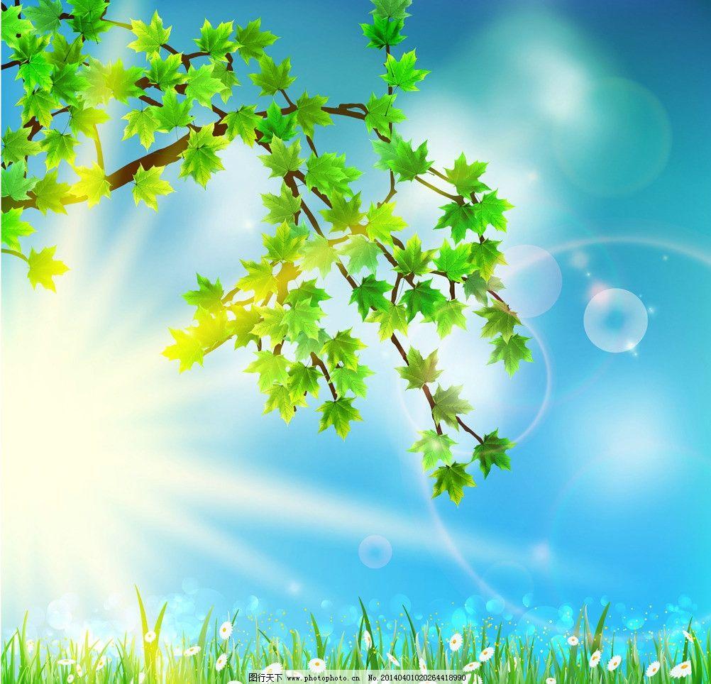 春季背景图片