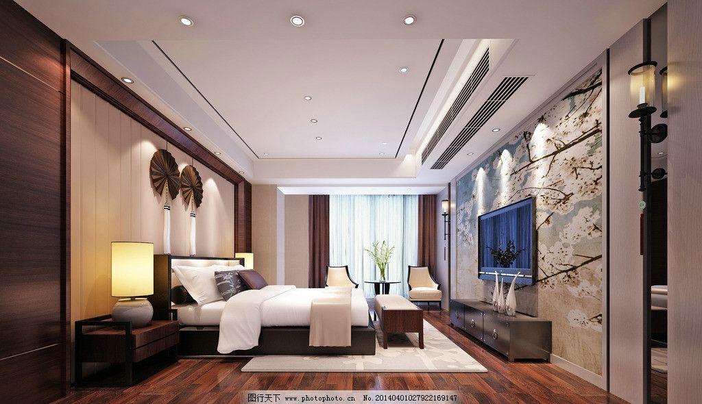新中式卧室设计图片图片