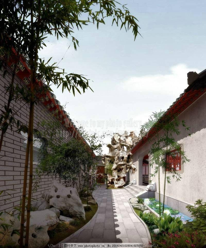 园林景观 景观设计 环艺设计 3d建筑模型 3d建筑 3d建筑效果图 室外3d