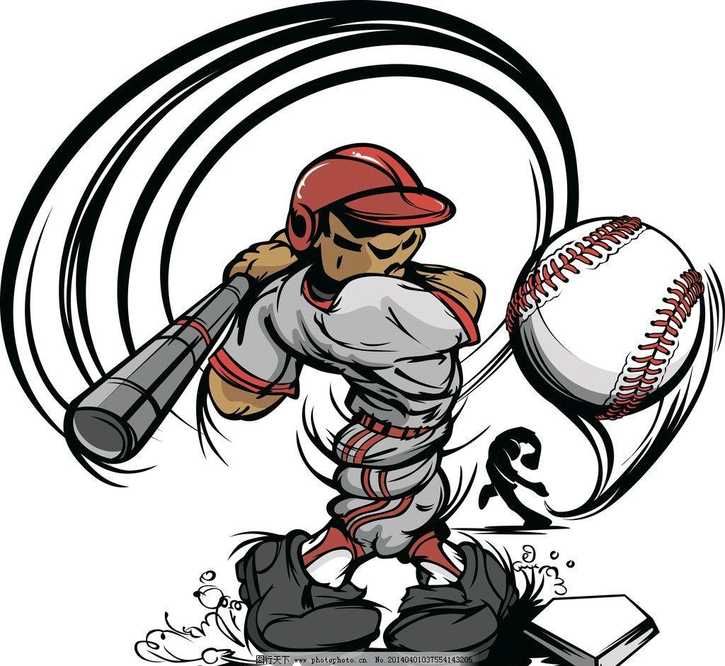 棒球 棒球帽 棒球帽子 卡通人物 棒球场 球衣 运动 运动装备 文化艺术