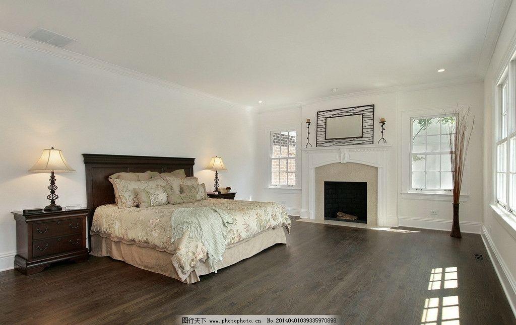 卧室 室内设计 装修 装饰 装潢 家具 家居 床 床头柜 台灯