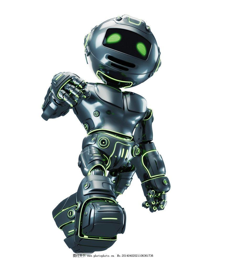 机器人 现代科技 创意 创想 手绘 科技背景 卡通动漫 卡通机器人 科技