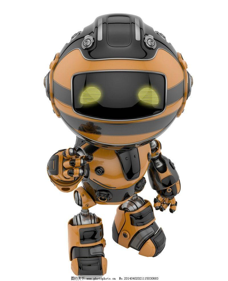 機器人 現代科技 創意 創想 手繪 科技背景 卡通動漫 卡通機器人