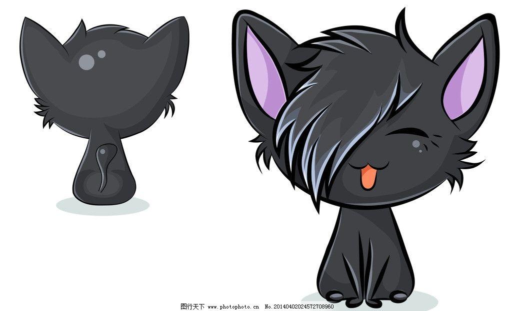 卡通猫 猫 猫咪 宠物 手绘 卡通 可爱 动物 表情 动物家禽家畜 家禽