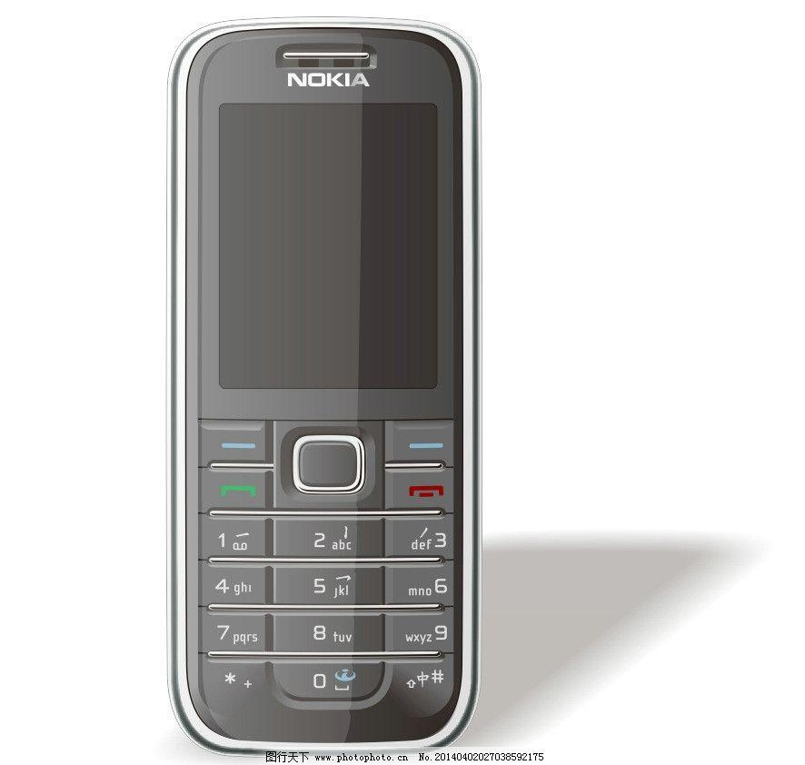 手机 工业设计 诺基亚 矢量 cdr 通讯科技 现代科技