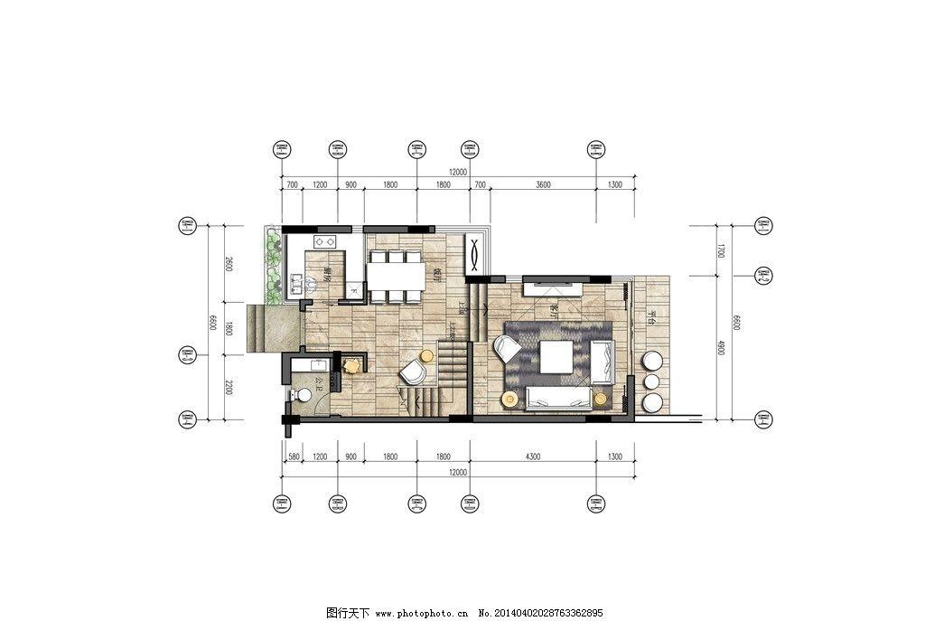 室内方案设计 平面设计 室内设计 方案设计 家居平面布置 空间平面图