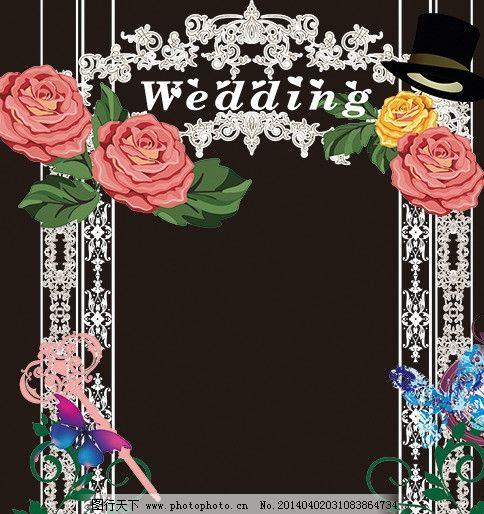 素材下载 欧式婚礼标志