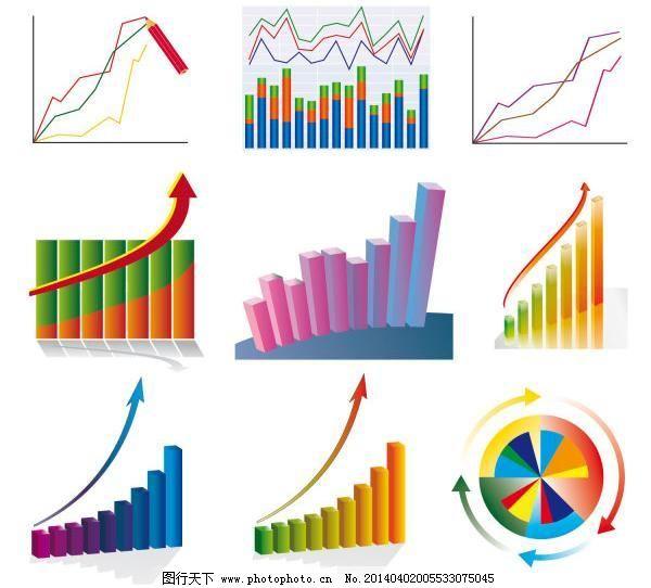 图表股票矢量素材,图表股票矢量素材免费下载