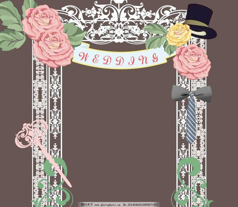 婚礼欧式 门素材