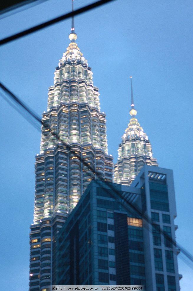马来西亚 双子塔图片