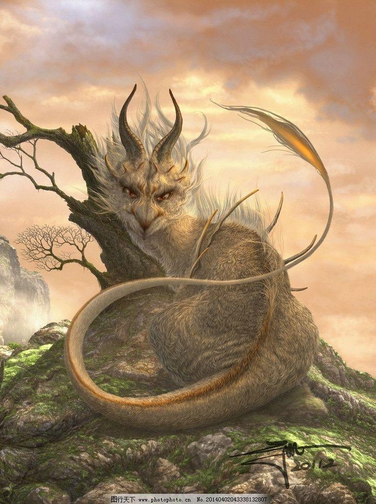 幼龙 水彩 cg 数字绘画 手绘 动漫壁纸 奇兽 神兽 龙 西方龙 巨龙