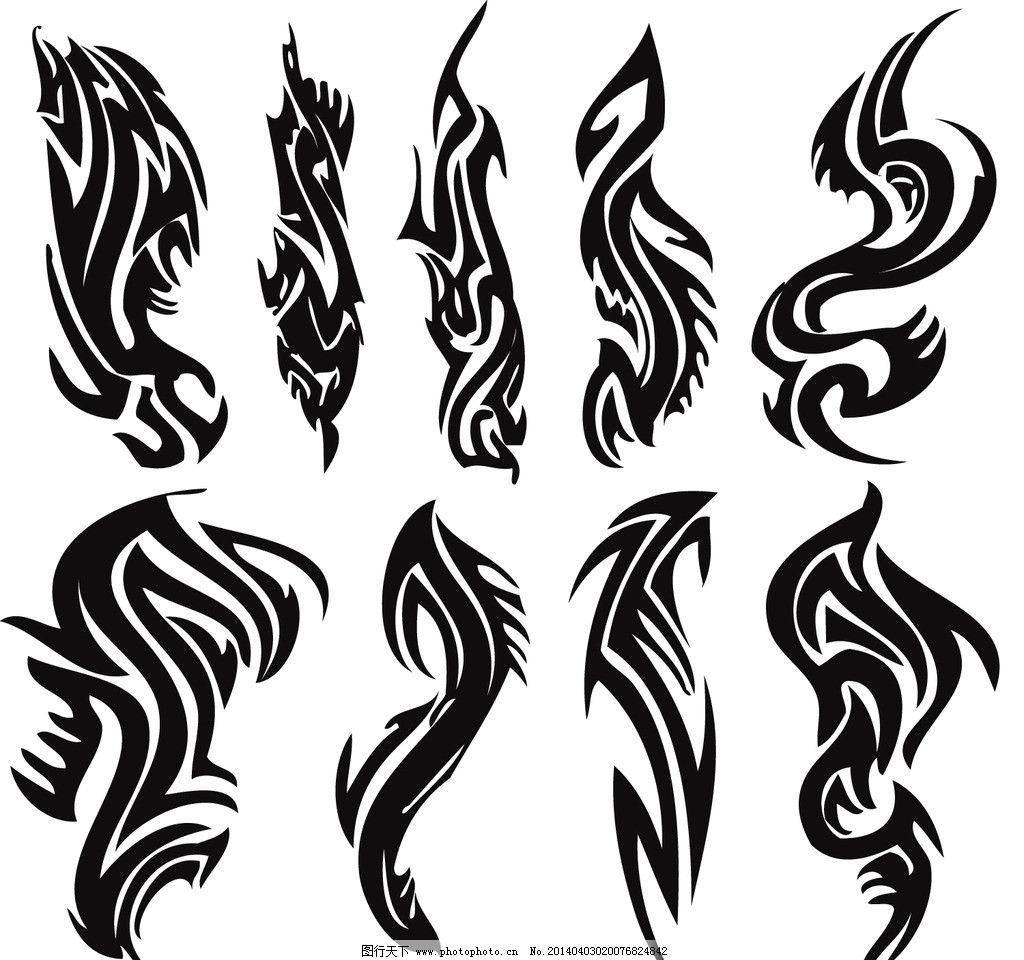 设计图库 标志图标 网页小图标  纹身 纹身图案 手绘 吉祥 图腾 线条