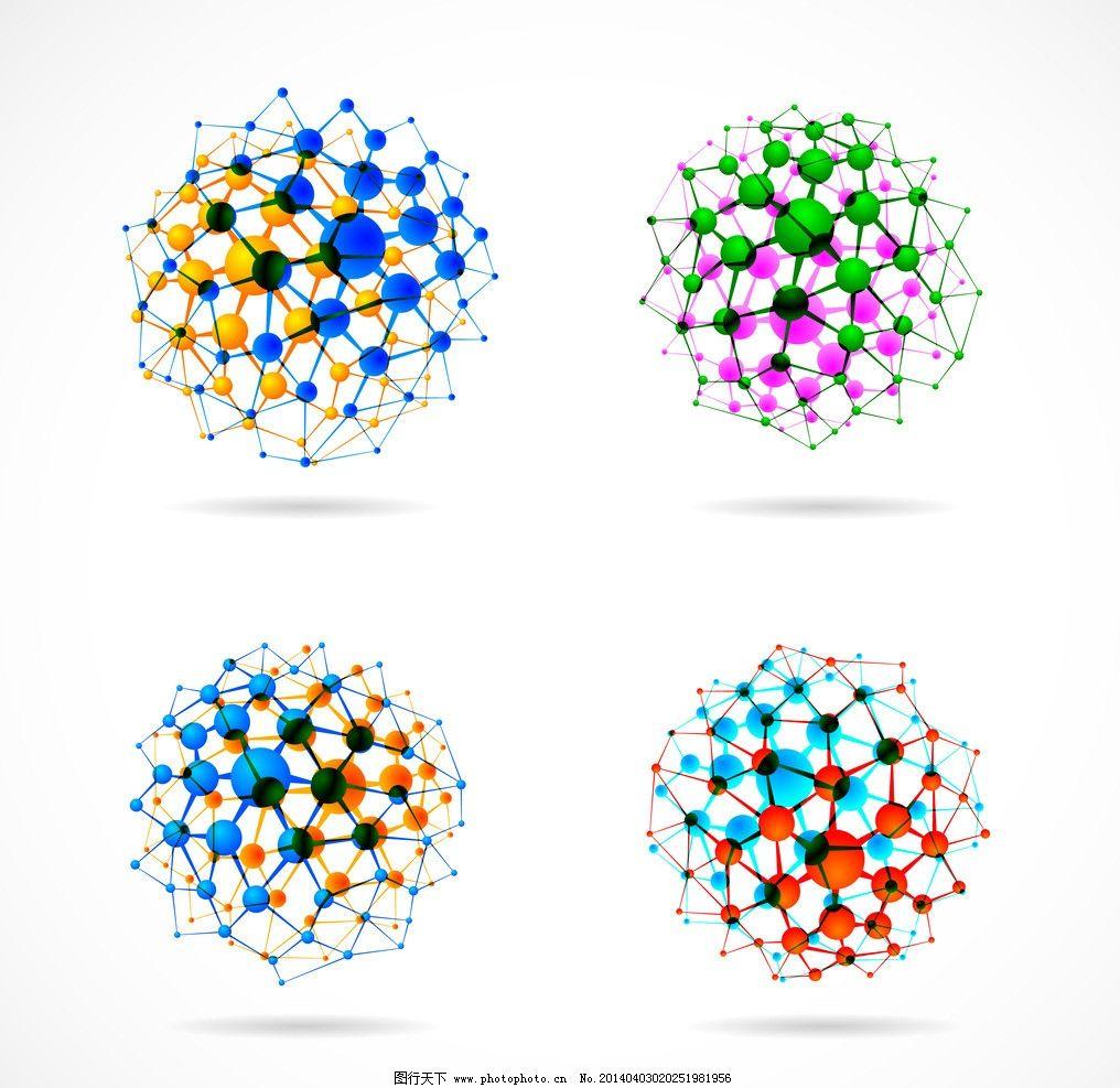 创意背景 创意设计 科学 医学 分子结构 科技背景 dna 抽象背景 抽象