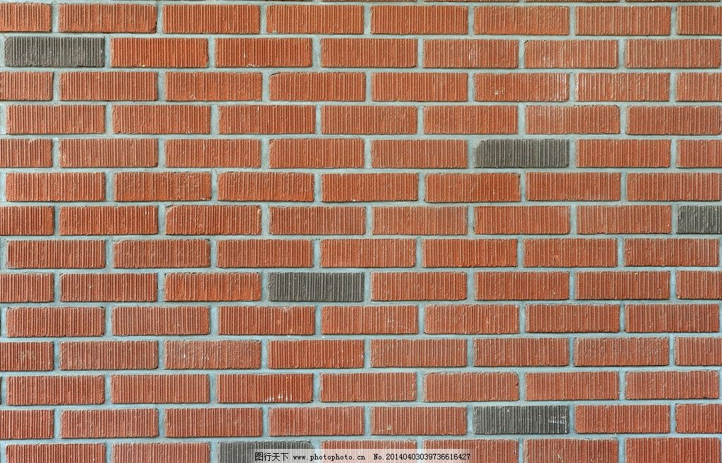欧式建筑 红砖墙图片