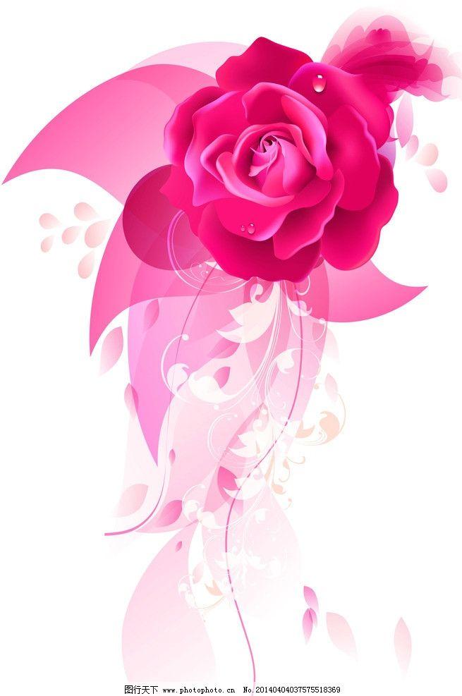 玫瑰花背景 婚礼背景 签到区背景 喷绘背景 背景设计 其他 动漫动画