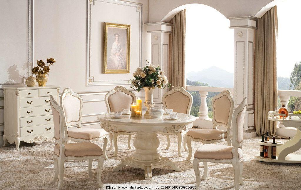 欧式餐厅图片_室内摄影