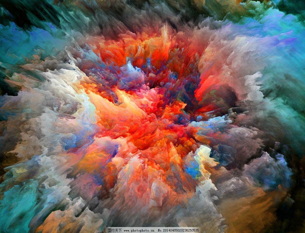 宇宙水彩画步骤
