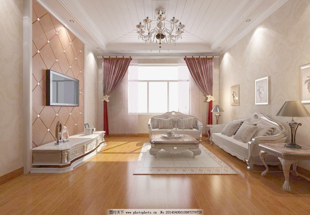 欧式简洁装饰设计效果图高清大图