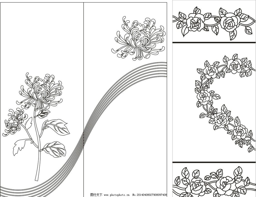 玫瑰简单步骤简国画