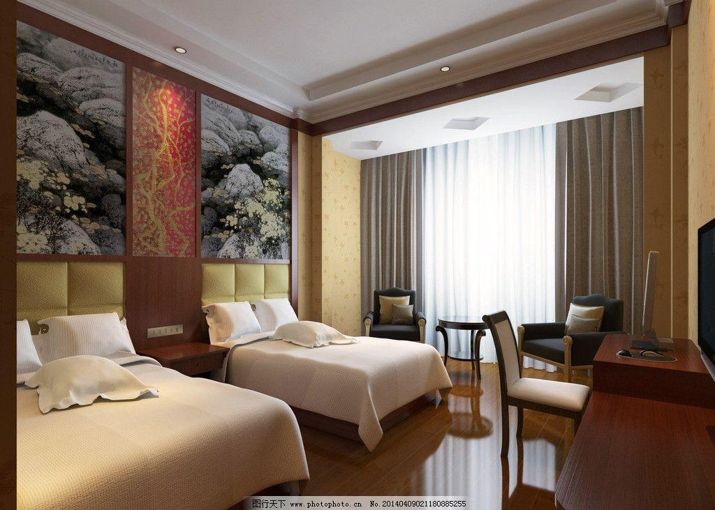 酒店房间设计图片