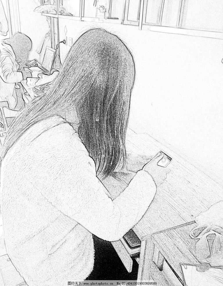 人物素描 素描 绘画书法 设计 素描人物下载 72dpi jpg 文化艺术