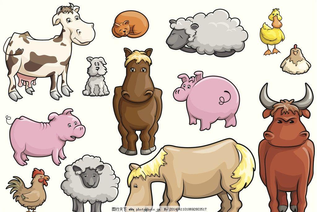 农场动物图片