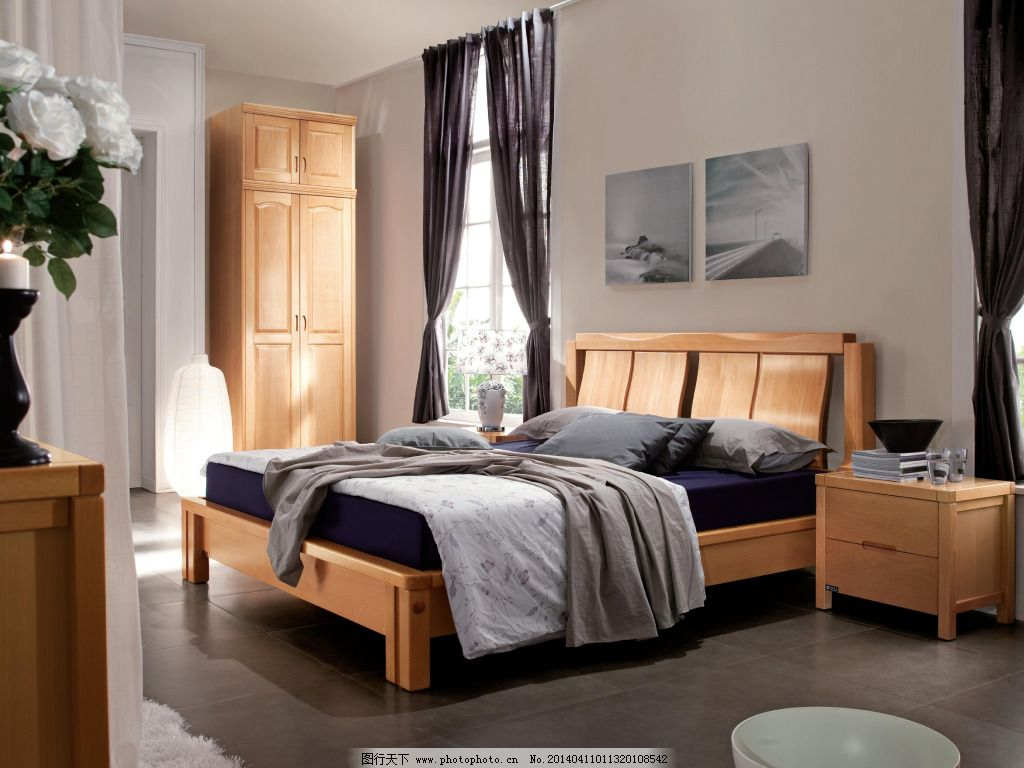 木床卧室装修图片大全