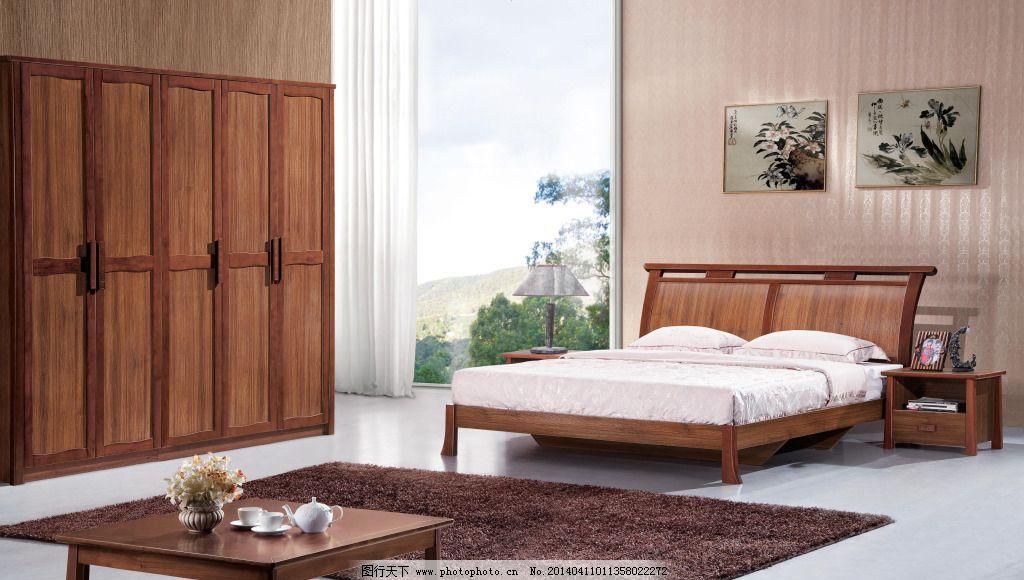 实木床家具