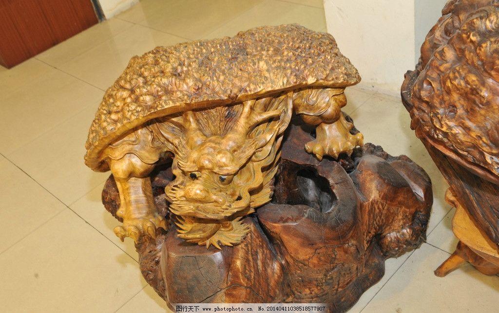 古董雕刻木料