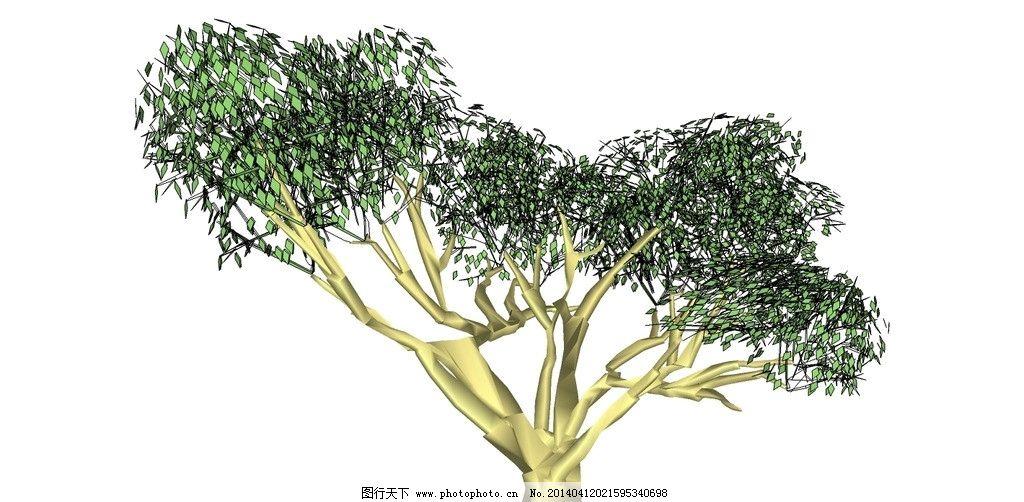 槐树简笔画图片大全
