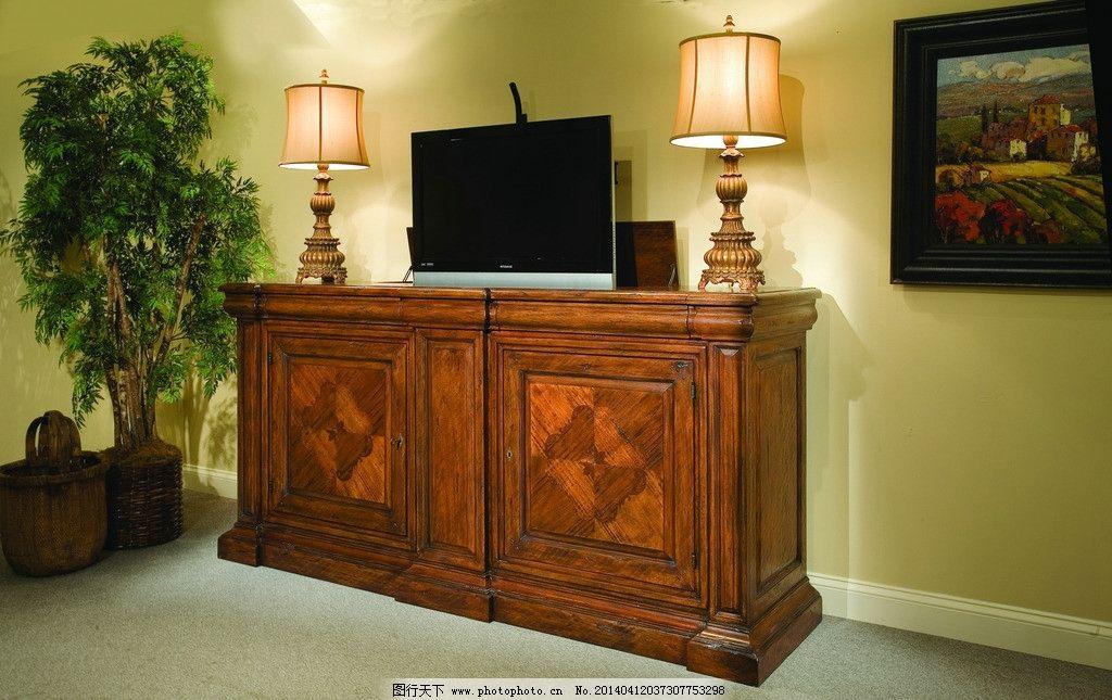 原木电视柜 家具 美式家具 电视柜 外贸家具 家居设计 家居生活 生活