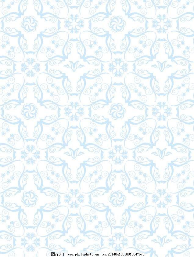 景 蓝色背景 青花颜色 淡底纹 淡雅背景 欧式 素雅背景 时尚花纹 清雅