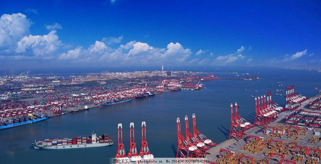 青岛港湾学院实训基地 实训基地 海港 港口 港湾 码头 工业生产 现代
