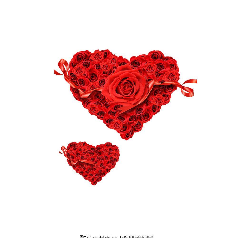 心形玫瑰免费下载 psd 玫瑰花素材 psd 免抠 玫瑰花素材 psd源文件