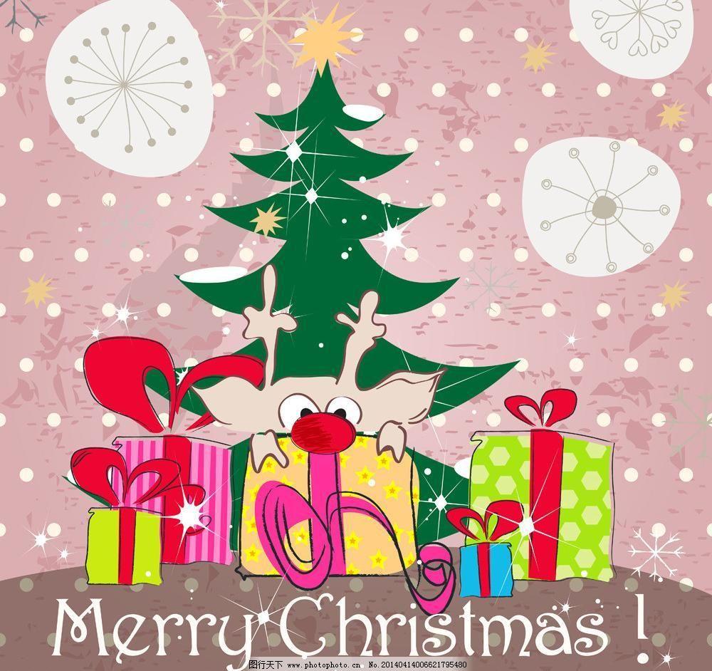 圣诞背景模板下载 圣诞背景 圣诞节 圣诞 圣诞球 雪花 卡通 手绘 圣诞