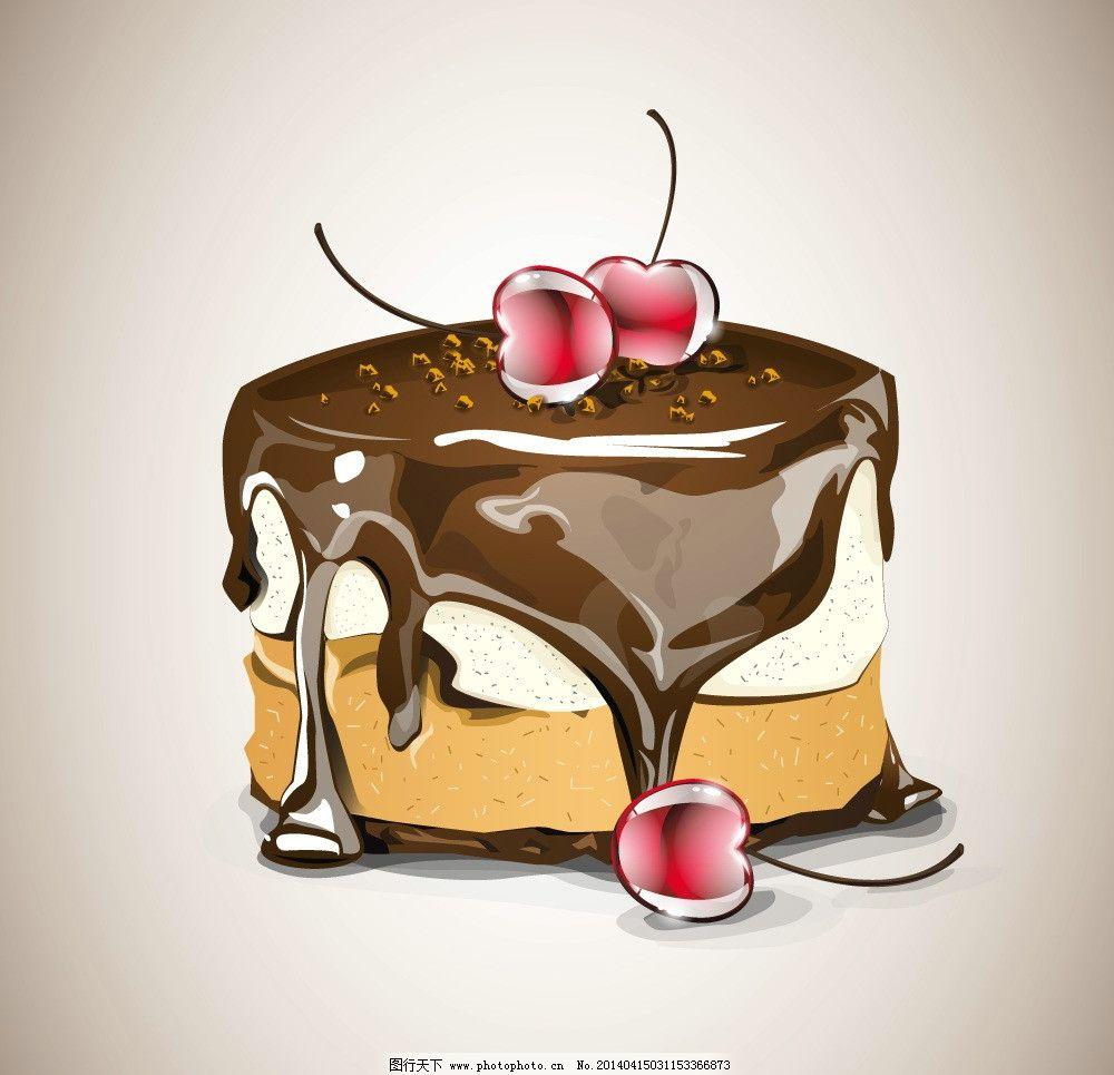 蛋糕 面包 手绘面包 美食 早餐 冰淇淋 营养 西餐美食 餐饮美食