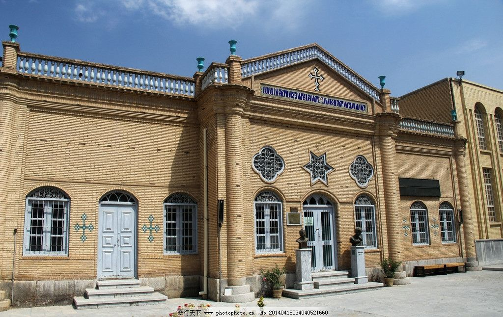 古老的城市和建筑物 欧式 伊朗 名族 风景 旅游 人文 建筑物 窗门