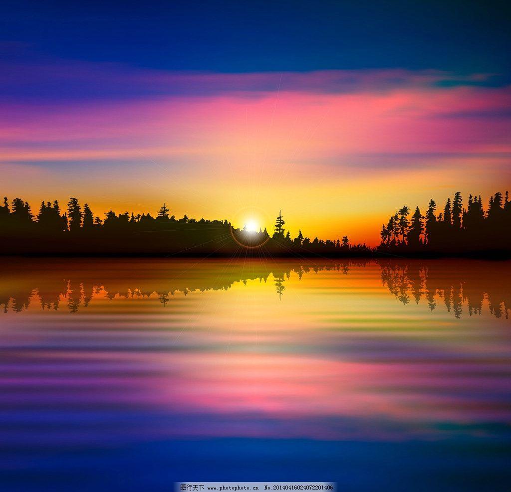 千岛湖珍珠半岛晚霞