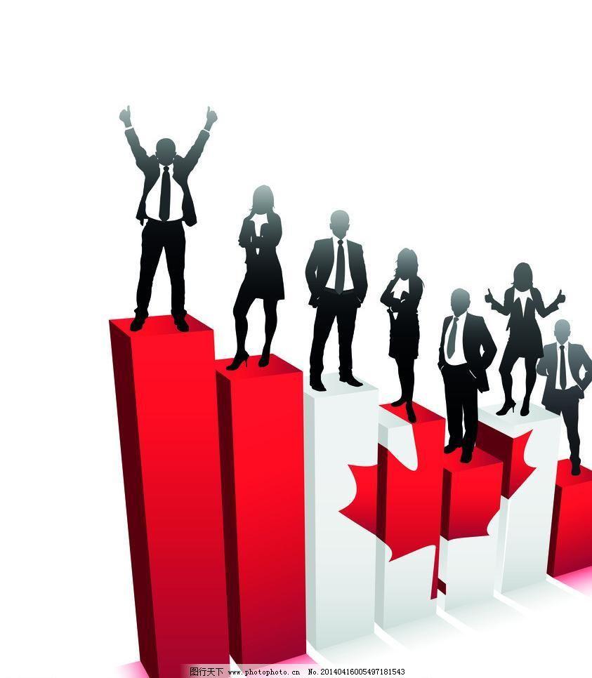 商务人物 商务 商务人物剪影 商务成功 商务人士 金融 商业 人物 站立