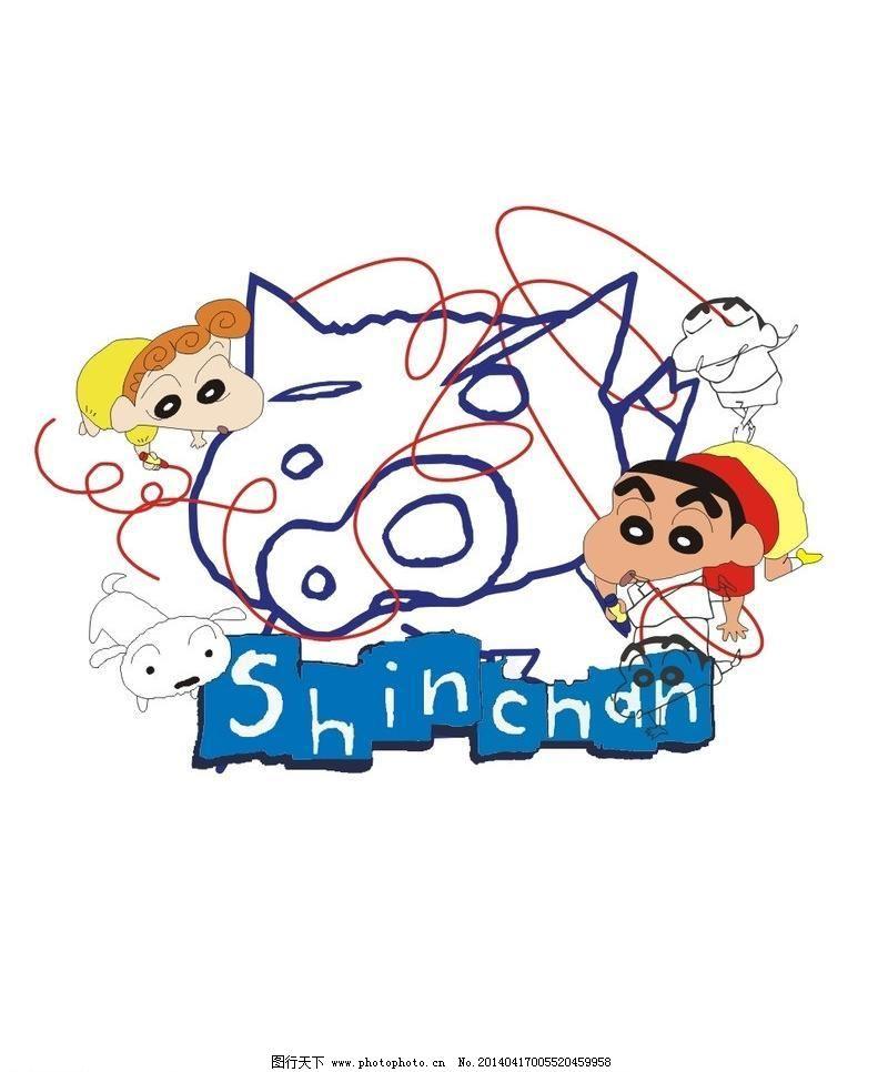 动漫 儿童 儿童服装 猪头矢量素材 猪头模板下载 猪头 动漫 漫画 卡通