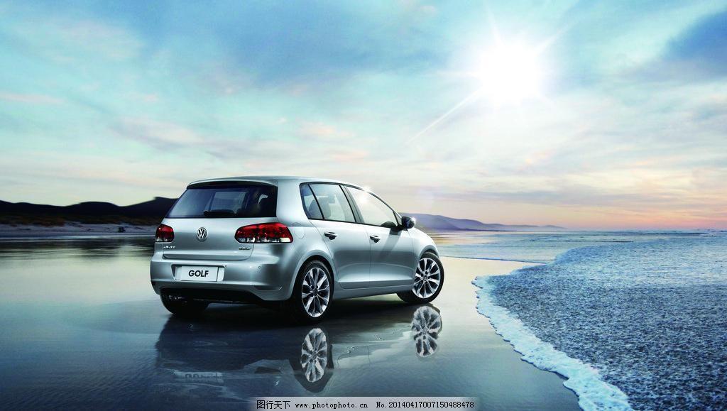 高尔夫 车 大众高尔夫 交通工具 科技 汽车 汽车背景 汽车广告图片