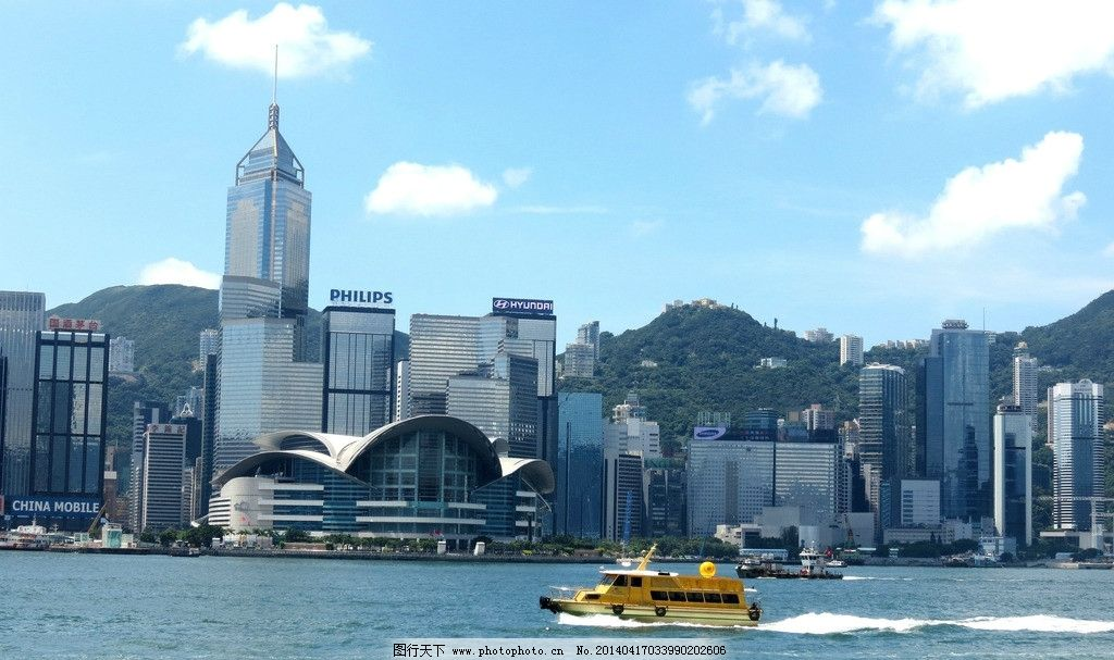 香港 维多利亚港 九龙 港岛 摩天大厦 国内旅游 旅游摄影 摄影 180dpi
