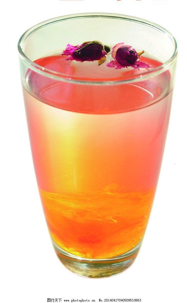 玫瑰蔓越莓 一杯水 饮品 茶 冷饮 饮料 气泡水 黄色水 黄色饮品