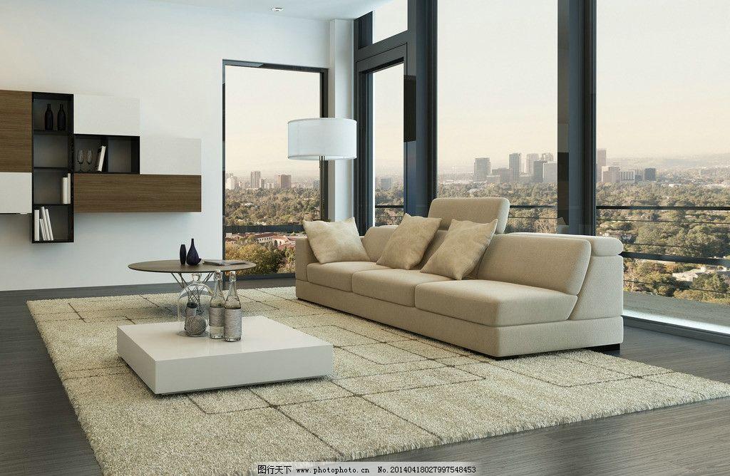 客厅设计 简装 现代 组合沙发 茶几 木地板 清新 淡雅 装修
