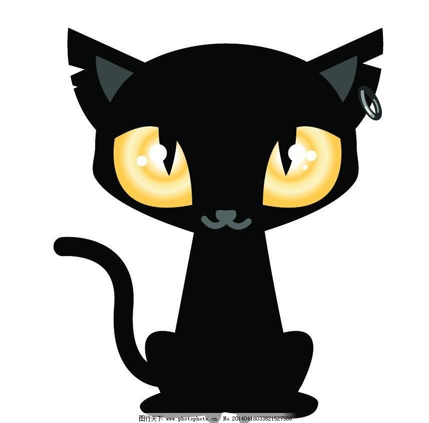 可爱卡通动物印花图稿图片