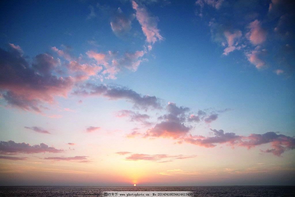 夕阳风景图片素材下载