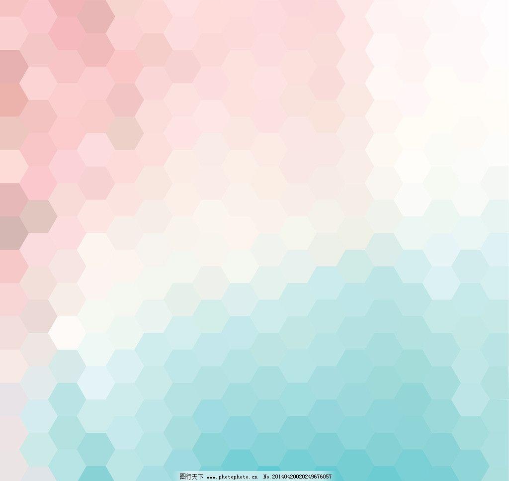 创意背景 创意设计 几何图案 六边形 蜂巢背景 背景设计 多边形 不