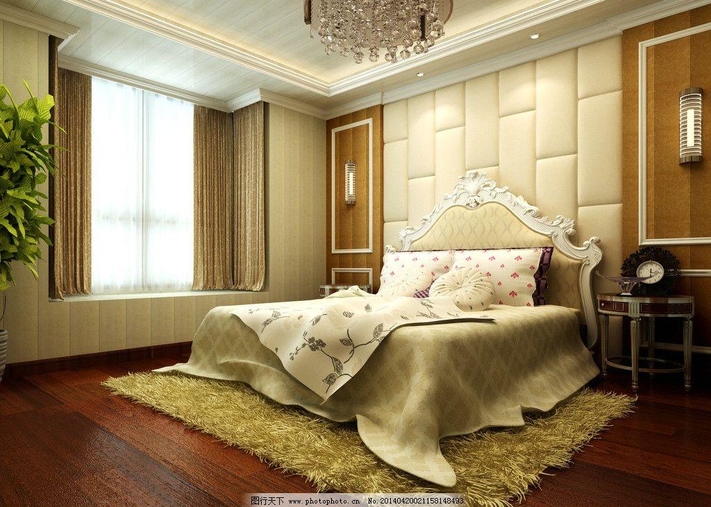 卧室 欧式图片
