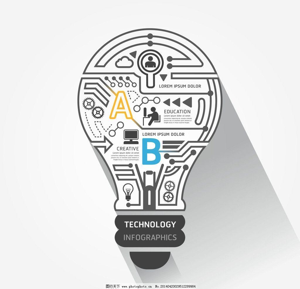 设计图库 高清素材 其他  idea创意设计 ieda 创意 手绘 电路板 商务