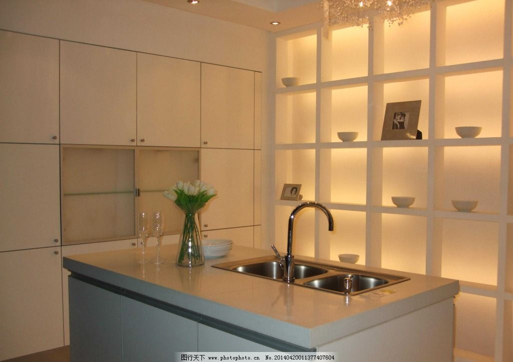 酒架厨房设计 酒架厨房设计免费下载 酒柜 室内 置物柜 家居装饰素材